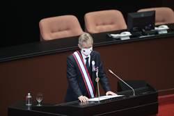 捷克議長韋德齊用中文說「我是台灣人」 全場立委起立鼓掌20秒