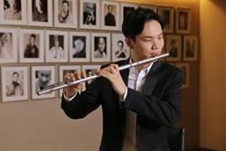 闖蕩巴黎 長笛演奏家楊智越從生活中學音樂