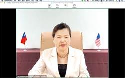 台美經合視訊會 王美花促洽簽台美貿易協定