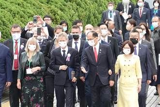 捷克參議院議長韋德齊訪立院 游錫堃:台捷是民主同盟國