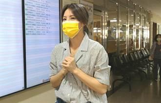 藝人劉雨柔拳館被偷拍 選手老公陪出庭