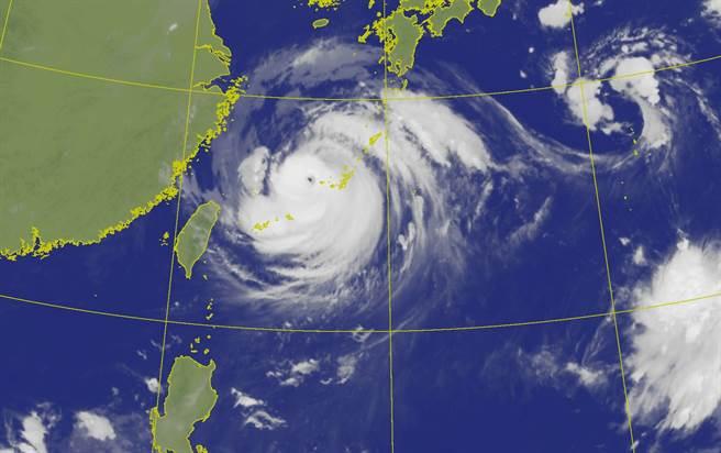受颱風外圍環流影響,易有短時強降雨。(圖取自氣象局網頁)