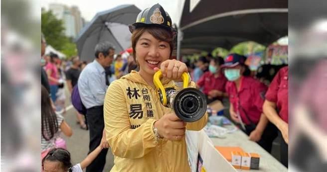 新任時代力量決策委員的台南市議員林易瑩,被傳恐是下一波退黨人員。(圖/報系資料照)