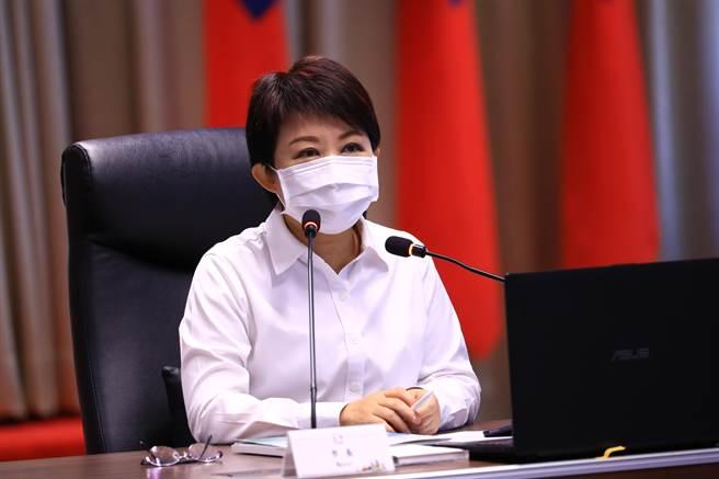 台中市長盧秀燕1日肯定請辭的環保局長吳志超是反空汙與環保的鬥士,至於繼任人選?各方都有推薦者,甚至自我推薦都有。(盧金足攝)