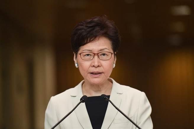 香港特別行政區行政長官林鄭月娥。(新浪網)