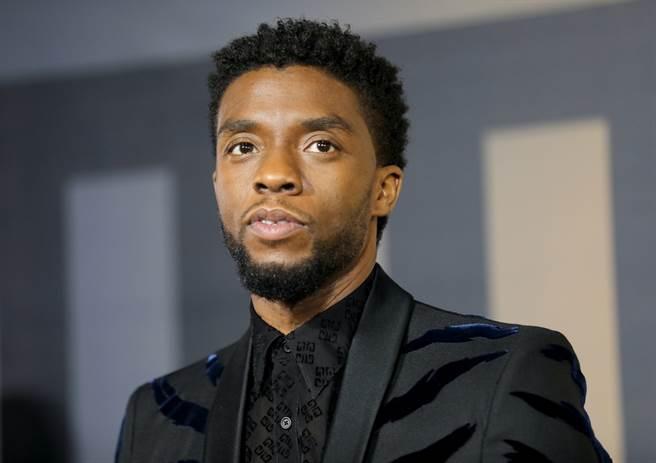 漫威系列電影《黑豹》男主角演員查德威克鮑斯曼(Chadwick Boseman)。(達志影像/Shutterstock提供)