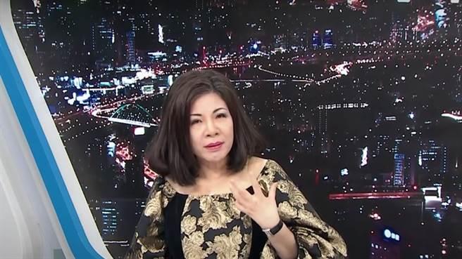 資深媒體人陳文茜於政論節目上談及美豬議題,分享她自己的看法。(圖/翻攝YouTube)