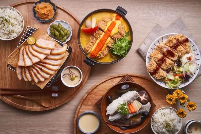 王品集團首次進軍新品類「日式定食」,推出新品牌「町食就是定食」。(王品提供)