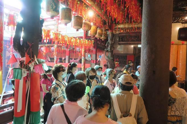 廟宇的裝飾有很多元素在裡面,都是匠師的巧心傑作。(世界宗教博物館提供)