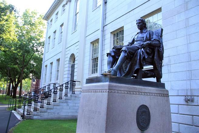 美國可能暫時性地全面禁止大陸留學生前往美國就讀,或大陸學者赴美進行研究。圖為哈佛大學。(圖/新華社)