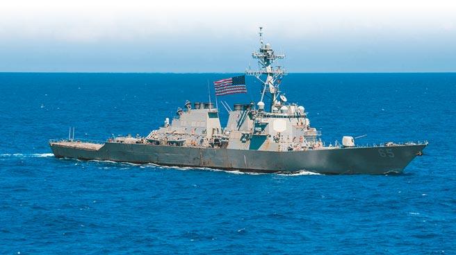 國防部昨證實,一艘美軍驅逐艦由北向南航經台灣海峽。圖為班福特號(USS Benfold)資料照。(摘自美國海軍官網)