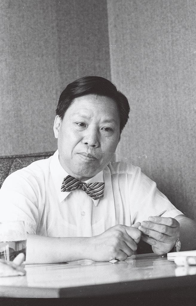 故宮博物院設計人黃寶瑜。(本報資料照片)