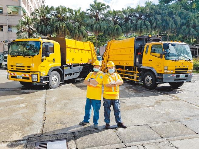 台北市環保局招考90名儲備駕駛,薪資最高可達4萬795元。(台北市環保局提供/張立勳台北傳真)
