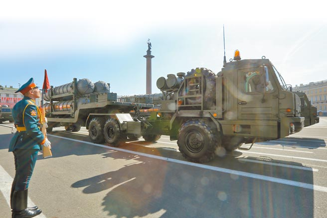 俄製S-400防空飛彈系統。(新華社資料照片)