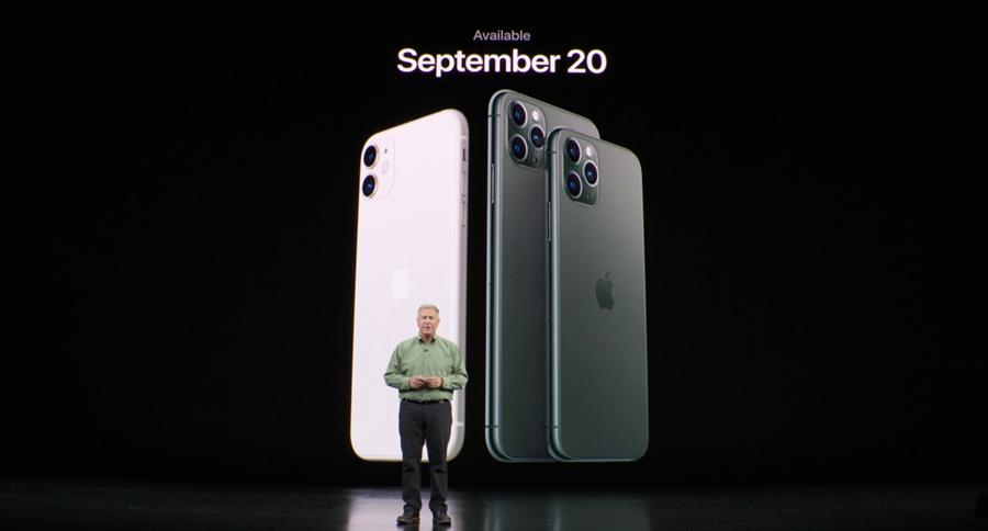 蘋果iPhone 11系列在2019年9月發表,今年的接班人何時才會亮相,日媒消息來源是10月下半月!(摘自蘋果官網)