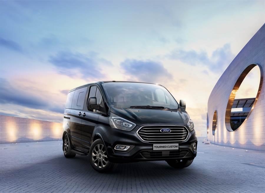 歐系商務MPV Ford Tourneo Custom福特旅行家全車系推出九月入主可享4年原廠保固