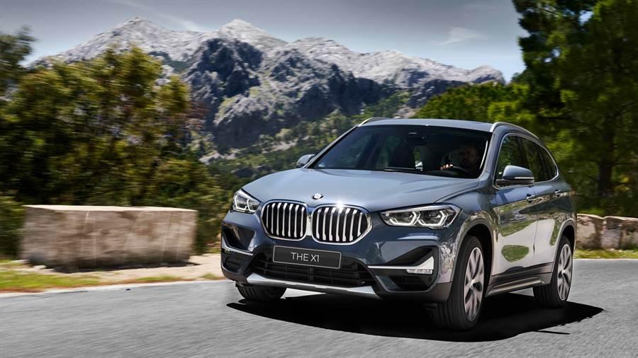 本月入主全新BMW X1享0頭款、0首付優惠專案,限時加碼4次保養與一年乙式全險