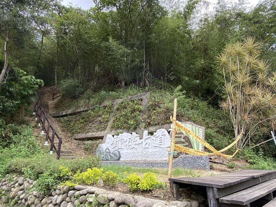 鐘樓古道整修進度超前  錫隘古道橫倒巨木移除完成 - 苗栗縣