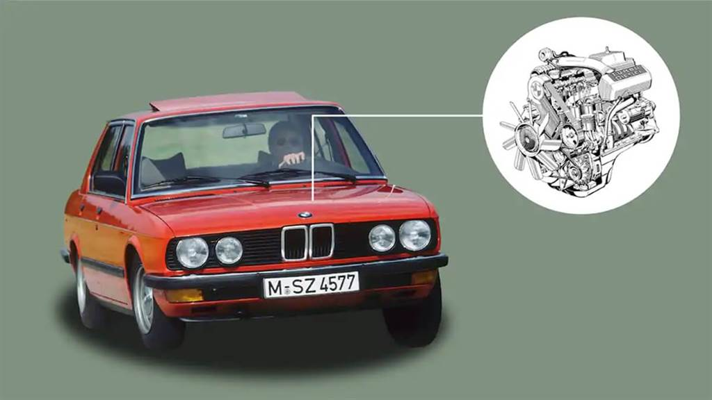 1983 BMW E28 524td