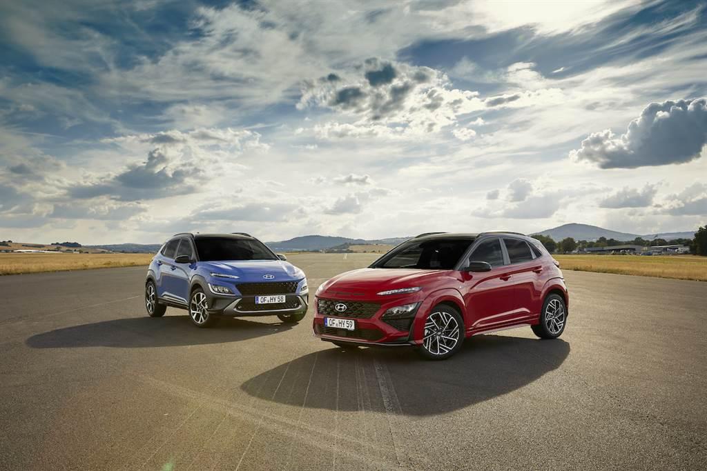 新增N Line運動版、導入SmartStream動力族,Hyundai Kona小改款車系先行亮相!