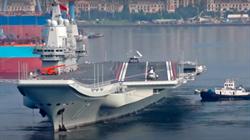 影》與美緊張 陸黃海渤海軍演 航母山東艦展開艦機融合訓練
