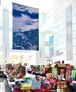 101辦公大樓攝影展添色 成就最美中元普渡