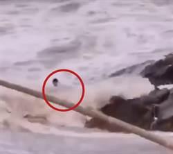 新人海邊拍婚紗照落海2死1失蹤 11秒驚悚影片曝光