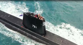 海軍艦隊慶祝93軍人節 推出戰訓影片展現捍衛台海決心