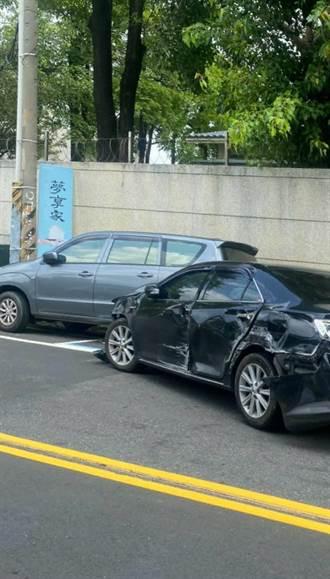台中悍警3車包夾藥遭撞 對空鳴槍「嫌當場嚇昏」