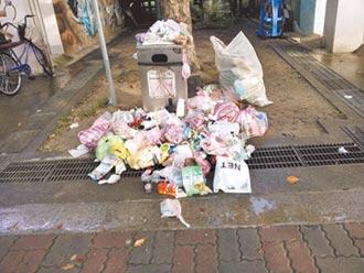 中和惡質 家用垃圾扔四號公園