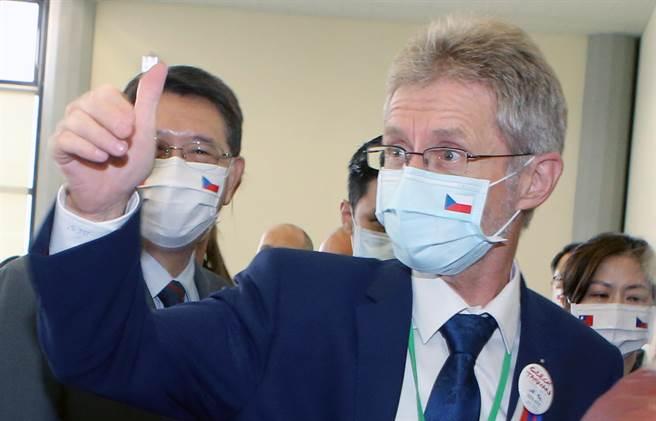 捷克議長韋德齊訪台括起一陣旋風,開啟台灣與歐洲國家外交的新模式。(圖/陳麒全攝)