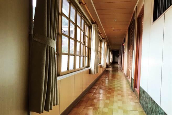 古色古香的建築內部。(圖/花蓮趣提供)