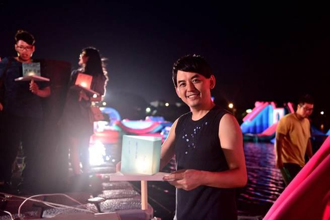 黃子佼首度台南開唱,造成轟動。安平虎鯨ORCA GO!提供