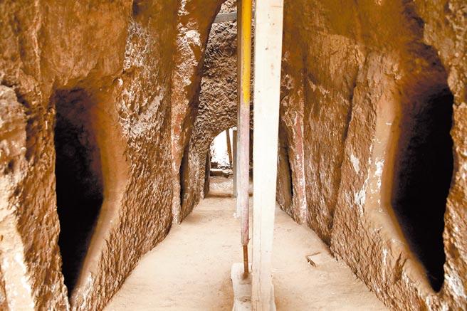 陝西省發現唐太平公主第一任駙馬墓室。(中新社資料照片)