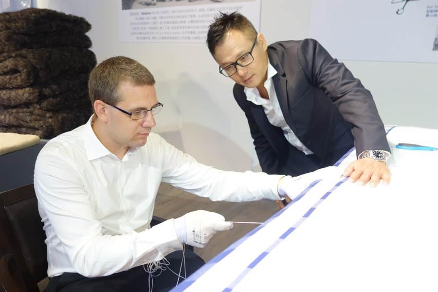 有床墊界勞斯萊斯美譽的「Hästens海絲騰」,是知名頂級床墊品牌。(葉思含攝)