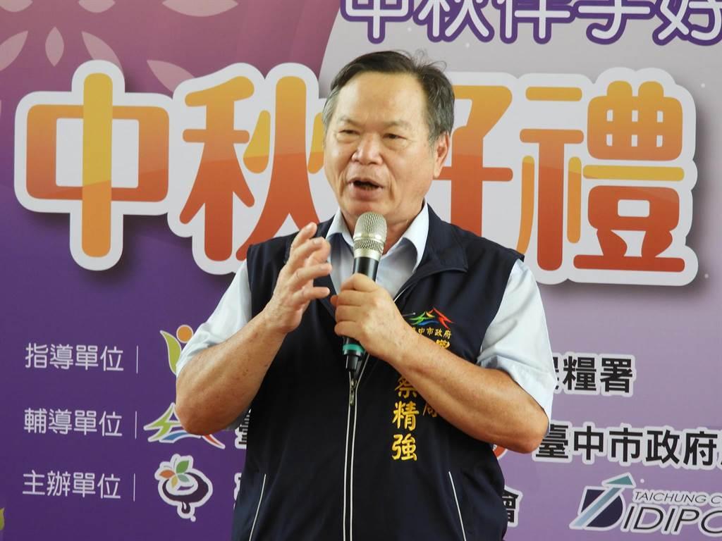 台中市政府農業局長蔡精強說,農委會事先都完全沒有溝通,如彰化縣養豬協會北上農委會陳情抗議,他會鼓勵中市豬農一起北上陳情抗議。(陳世宗攝)