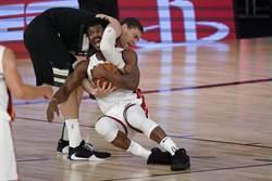 NBA》爭議判決!巴特勒0秒兩罰氣走公鹿
