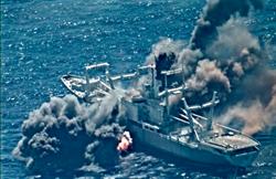 影》升高緊張又怎樣 嗆聲陸 美環太平洋軍演炸爛退役軍艦