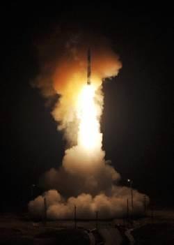 意在牽制北京  美試射義勇兵洲際飛彈