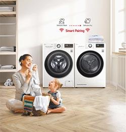LG免曬衣乾衣機 二次清潔殺菌
