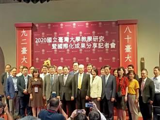 世界大學雙榜台大史上最佳 管中閔:期許2028年進50名