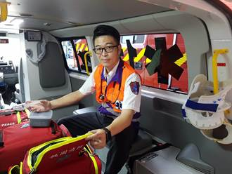 救護英雄接手8千件急救 勇奪2020十大傑出救護員