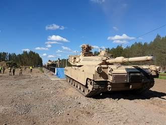 白羅斯局勢緊張 美軍在立陶宛擴大演習