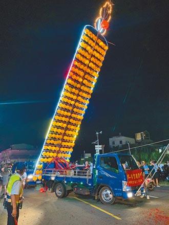 放水燈堵河道 環局允加強清運