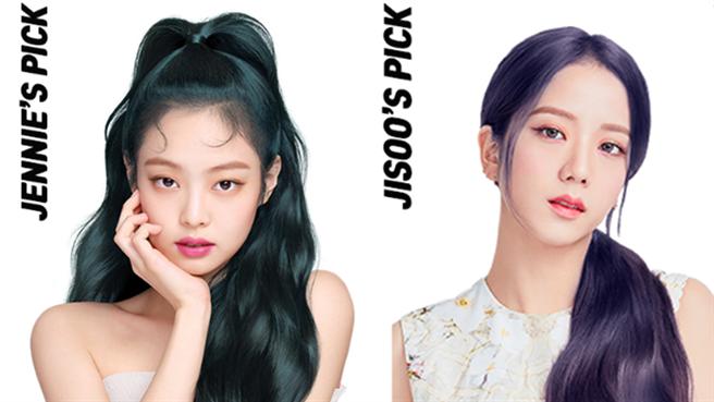 韓國大勢女團BLACKPINK代言的魅尚萱Hello Bubble泡沫染髮劑,推出夜幕綠、星光藍兩款人魚髮色,在家DIY也能染出夢幻的女團髮色!(圖/品牌提供)