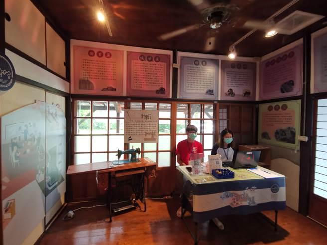 長榮大學認養大目降故事館,打造青年返鄉創業基地,展示新化的「過去、現在、未來」。(劉秀芬攝)