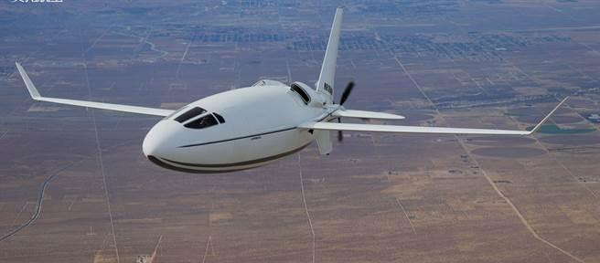 「賽雷拉500L」客機。(圖/Otto Aviation)