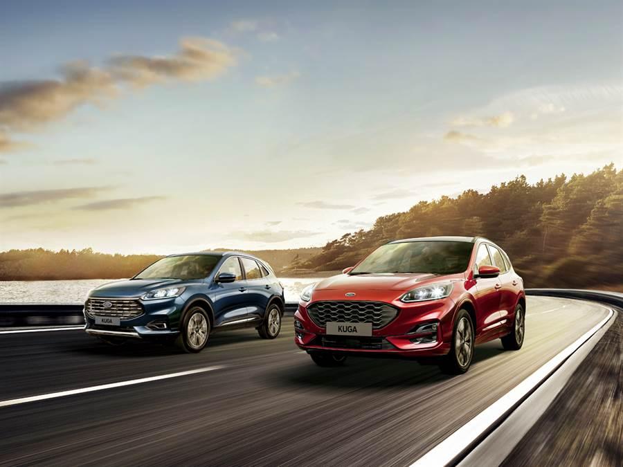 Ford Kuga引領運動休旅市場新熱潮 上市僅二個月突破5,000張訂單