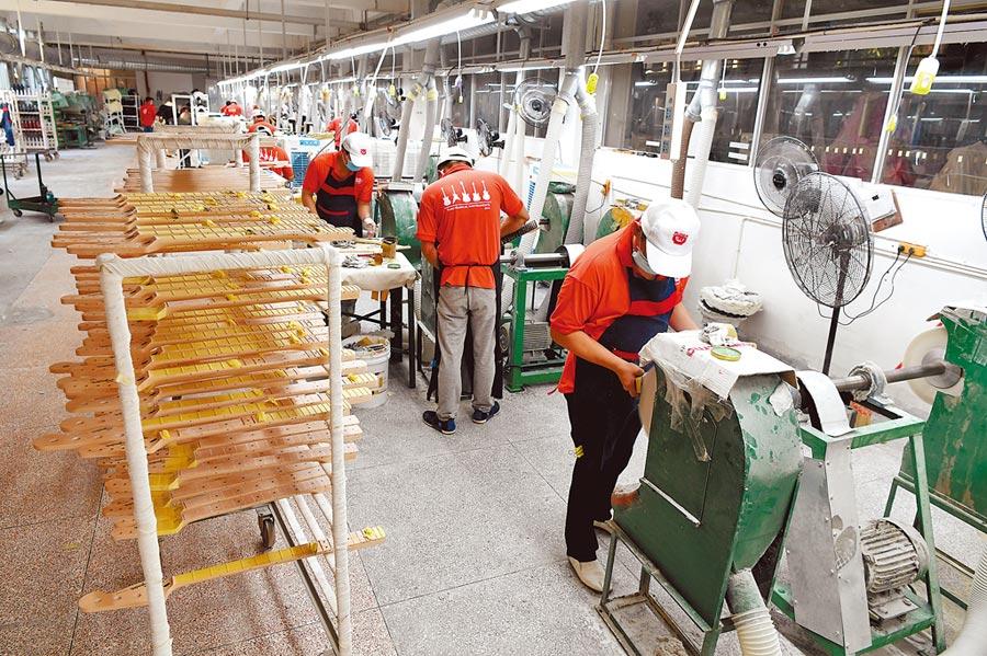 漳州台資企業生產線。(中新社資料照片)