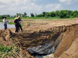 學甲農地被非法掩埋爐碴 明祥馨展開清理
